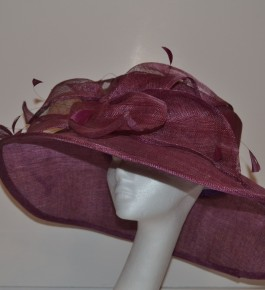 Purple Petal Hat