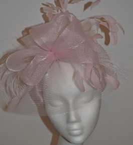 Baby Pink Crin Headpiece